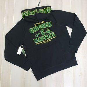 Vans x Shake Junt Medium Hoodie Sweatshirt NWT